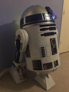 Details about Star Wars Prop R2-D2 life Sized Droid Robot Statue ...