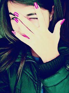 Hidden face girl dp for fb Profile