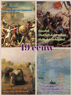 Overzicht stromingen 19e eeuw