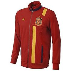 ADIDAS SPAIN TRACK TOP 2012/13 CONFEDERATIONS CUP JACKET ESPAÑA RED M, L, XL
