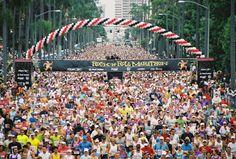 Run another half marathon or run a half triathlon