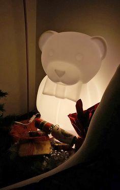 Charlie, un precioso osito-lámpara / Post by Inou Mobiliario