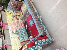 Küchensofa ebay ~ Hobby lobby in santa fe new mexico. colorful patchwork sofa and