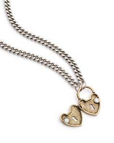 Heart Locket Necklace