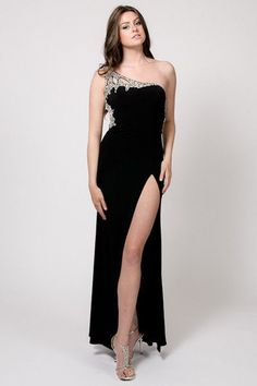 NEW SEXY PROM HOMECOMING COCKTAIL DRESS GORGEOUS LONG DRESS SLIT OPENING HOT #HAND #promhomecoming #Formal