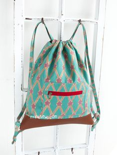 1157 Marida Drawstring Backpack PDF Pattern - New Release Sale! 50% Off!