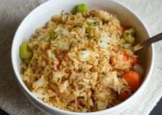 Make a delicious Air Fryer Chicken Fried Rice in minutes with chicken. The chicken is ready to go too when you use Tyson® Grilled & Ready® Fully Cooked Oven Roasted Diced Chicken Breast. Shrimp Pressure Cooker Recipe, Pressure Cooker Chicken, Slow Cooker Roast Beef, Slow Cooker Soup, Ninja Recipes, Healthy Recipes, Free Recipes, Slow Cooker Overnight Breakfast, Ninja Cooking System