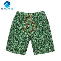 6259b0d787 Gailang Brand Male beach shorts Casual Men boardshorts bermuda Board Shorts  Gay Swimwear Swimsuits Quick Drying Boxer Trunks New