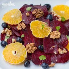 Salata de sfecla, portocale si nuci / Beetroot, orange & walnut salad