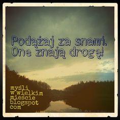 mysliwwielkimmiescie.pl // after_the_rain_comes_sun's photo on Instagram #dreams…
