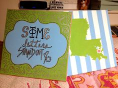 craft | sorority sugar. Change to Alpha phi & Kentucky obviously!