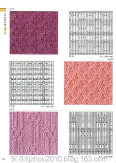 Pletení vzor 300 případů (1) - Basil - Basil blog