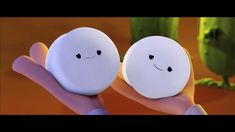 Aaw cute little marshmallows~ cloudy with a chance of meatballs 2