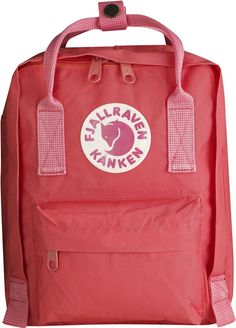 Buy Kanken for kids at the official Fjallraven UK online store. Here you'll find kid's backpacks, rucksacks, bags and Kanken suitable for kids and toddlers Fjallraven Kanken Mini, Mochila Kanken, Mini Mochila, Popular Backpacks, Kids Backpacks, Small Backpack, Mini Backpack, Backpack Bags, Shopping