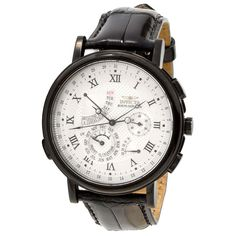 Invicta 10915 Men's Minute Repeater Black Tone Perpetual Calendar White Dial Watch.  I hate most Invictas, but this one is...  Classy.  As.  Fuck.