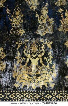Hanging Fabric, Fabric Art, Laos, Painting, Painting Art, Paintings, Paint, Draw