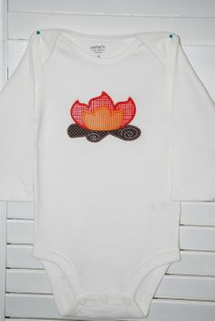 Campfire Onesie . 6 Months . Ready To Ship