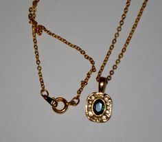 Vintage Lab Created 1ct Emerald CZ 14k Gold by AAAJEWELRYSTORE, $19.99