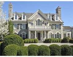 Georgian Mansion, Stone Mansion, Dream Mansion, Dream Home Design, My Dream Home, House Design, Dream House Exterior, Big Houses Exterior, Luxury Homes Dream Houses