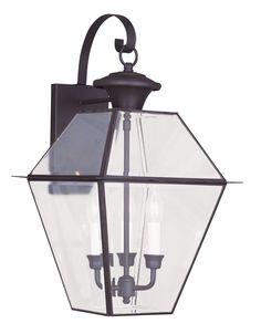 Livex Lighting Westover Bronze Outdoor Wall Lantern 2381-07
