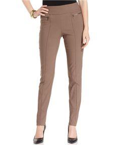 Style&co. Skinny-Leg Pull-On Pants - Swimwear - Women - Macy's