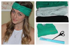 First DIY turban headband tutorial I've understood.