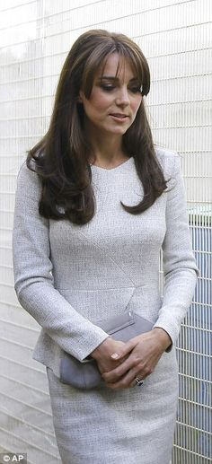 Kate Middleton visits women's jail HMP Send to meet inmates battling addiction | Daily Mail Online