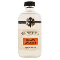 Archipelago Botanicals Mango Tangerine Diffuser Refill