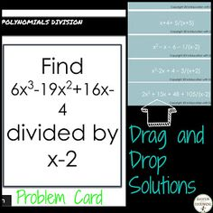Discovering the versatility of digital task cards for differentiation. Ideas in this post for how to use them in your classroom. We Are Teachers, Middle School Teachers, Math Activities, Teaching Resources, Secondary Teacher, Upper Elementary, Elementary Science, 8th Grade Math, Creative Teaching