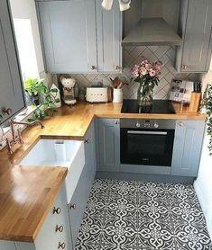 Kitchen Layout, New Kitchen, Kitchen Decor, Kitchen Ideas, Kitchen Small, Ranch Kitchen, Kitchen Wood, Diy Kitchen Remodel, Kitchen Remodeling
