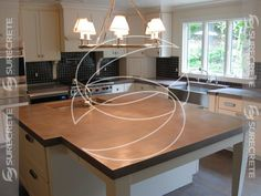 Do it yourself concrete countertops mix kit from start to finish. Instructions…
