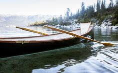 THE GUIDEBOAT from The Guideboat company. It's just beautiful.