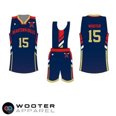 66fde7cbe Custom Sublimated Basketball Uniforms   Jerseys — Wooter Apparel