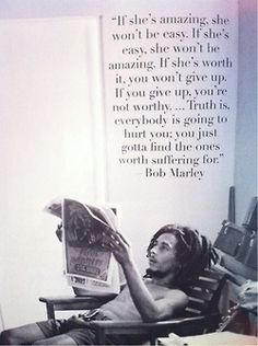 Bob Marley quote. Awesome