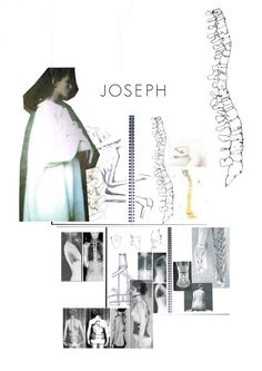 Fashion Sketchbook - skeletal fashion design research and sketches; fashion portfolio // Jodi Worbey