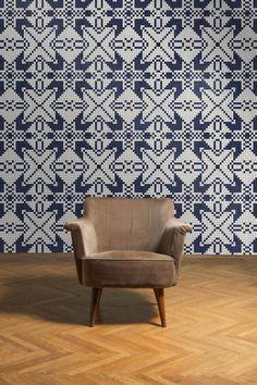 Image result for zilmers Celebration of Danish Design handmade wallpaper
