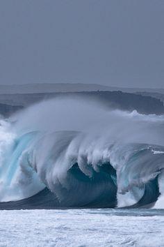 Waves — Lanzarote,  Canarias Islands.