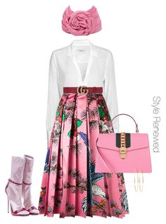 """""""Untitled #360"""" by sherristylz on Polyvore featuring Equipment, Gucci and Jennifer Meyer Jewelry"""