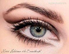 Beautiful eye make-up