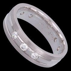 Silver ring, zirconia, ring