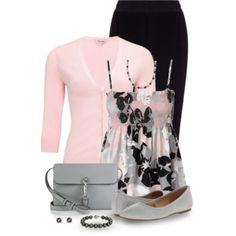 Black, Gray and Pink