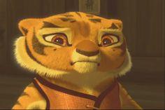Tigress as a Tiger Cub (Kung Fu Panda)
