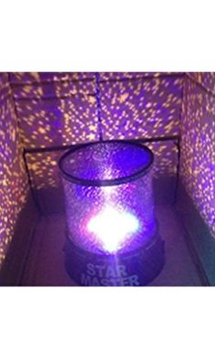 Generic Colorful Twilight Romantic Sky Star Master Projector Lamp Starry LED Night Light Bed Light for Christmas Light