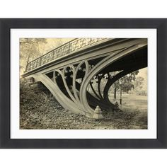 I pinned this Central Park I Framed Wall Art from the Decadent Deals & Splendid Splurges event at Joss and Main!  Such a beautiful bridge...