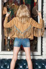 The Hendrix Leather Jacket - Camel