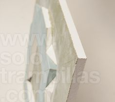 Trampilla sin perfileria para yeso laminado fabricada en el mismo material para evitar mezclar materiales