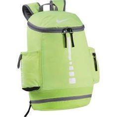 1ba3e2e9434 Nike Backpack Hoops Elite Ball Carry Volt Green Basketball Bag Mens Women  Team #Nike #