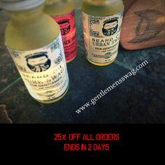 Beard Butter and Oil