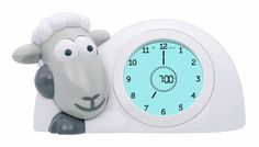 SAM Sleep Trainer Clock - we love this for keeping your toddler or child in their bed until a suitable hour!