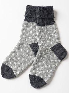 Prickiga strumpor i Novita Nalle och Novita Wool Crochet Socks, Knitted Slippers, Wool Socks, My Socks, Knitting Socks, Hand Knitting, Knit Crochet, Knitting Patterns, Crochet Patterns